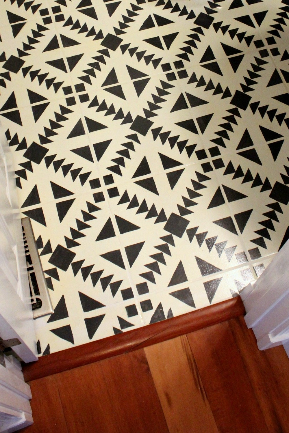 How To Paint A Tile Floor Without Losing Your Mind Organized Ish By Lela Burris